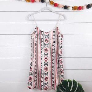 Sam Edelman • Boho Embroidered Beaded Slip Dress